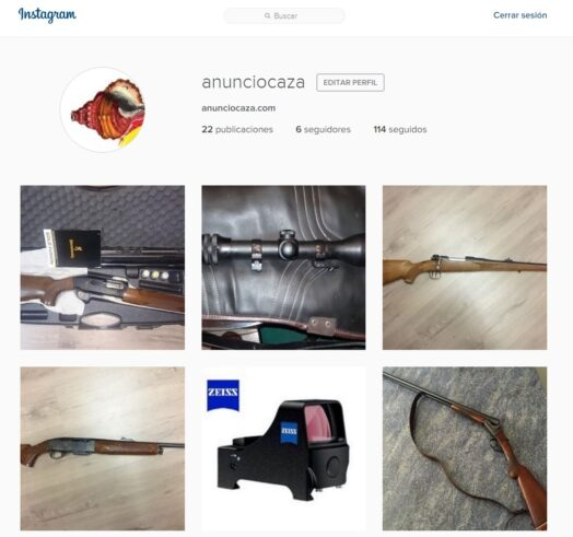 Ahora también en Instagram