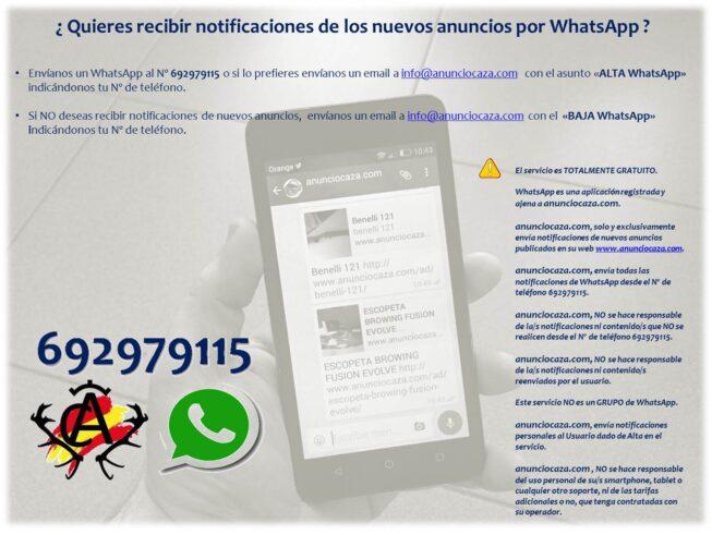 Alertas Nuevos Anuncios WhatsApp