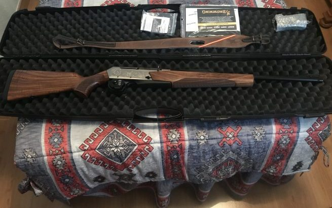 Rifle Browning MK3 Eclipse Fluted 30-06 nuevo