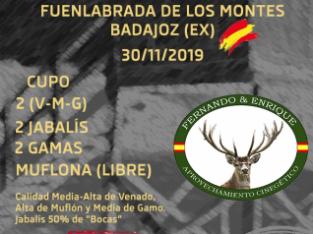 Montería Finca El Sotillo 30/11/2019
