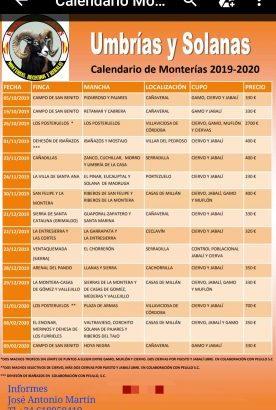 Monterías Norte de Extremadura II