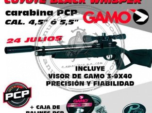 Pack COYOTE Black Whisper calibre 4,5″ ó 5,5″