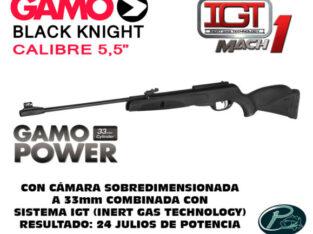 Black Knight sistema IGT Mach1 marca Gamo