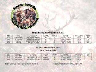 Monterias 2020/2021