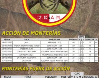 Programa de Monterías 2020/2021