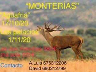 Monterías «Aguafria» y «Los Palacios»