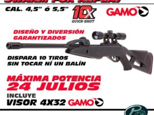 Swarm Fox Replay de GAMO